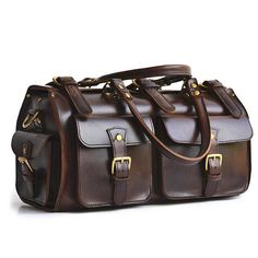 Low Cost Insurance Plan For The Welfare Of Your Loved Ones Marlondo Leather Weekender Duffel Bag - Full Grain Leather, Solid Brass Hardware Black Travel Duffels Leather Duffle Bag, Duffel Bag, Leather Bags, Tote Bags, Cowhide Leather, Leather Men, Leather Jackets, Pink Leather, Vintage Leather