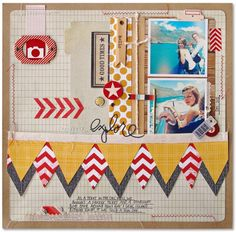 Ideas for Using Menswear-Inspired Patterns on Your Scrapbook Pages