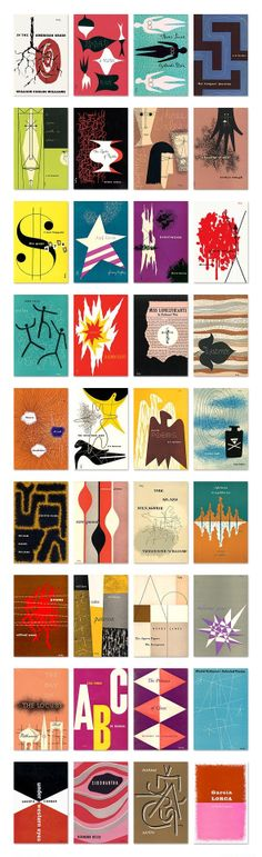 New Directions: New Classics by Alvin Lustig. Amazing. See the complete works on alvinlustig.com