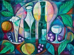 Spirits in the Vineyard - Canvas Art Designs :: Canvas Print
