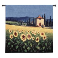 FineArtTapestries 1300-WH Golden Warmth Wall Tapestry, Beige