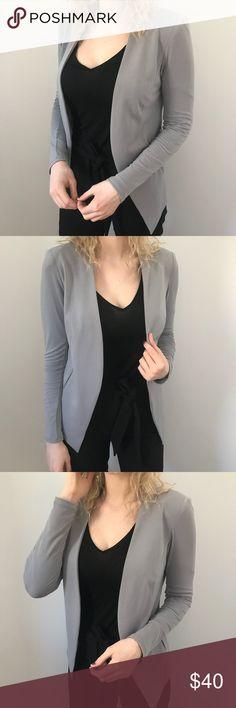 BCBGeneration Silky Grey Blazer Hold BCBGeneration Jackets & Coats Blazers