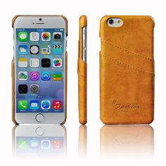 Amazon.com: iPhone 6 plus Case, Megafeis® iPhone 6 plus(5.5) PU Leather Oil Wax Pattern Stereotypes Protective Soft Case With Card Back Shell SOFT-Interior Scratch Protection Metallic Finished Base with Dual Layer Protection Trendy Strong Flexibility Case for iPhone 6 plus(5.5)/Super Lightweight /Scratch Protection /Perfect Fit/ ECO-Friendly Packaging (SH008)- Multi Color Choice (blue): Cell Phones & Accessories