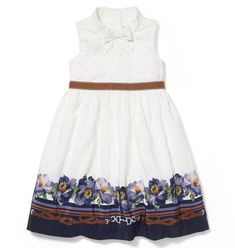 This beautiful dress is inspired by florals and equestrian details. Finished with flouncy tulle underlayers. | Floral dress | Children's clothing | Girl dresses  #afflink