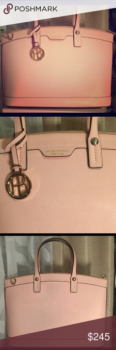 Light Pink West 57th Satchel Re-Posh. Love this bag but I want more the lighter baby pink this is a pink/peach. Not looking to make money just recoup what I paid. Comes with shoulder strap and dust bag. henri bendel Bags Satchels