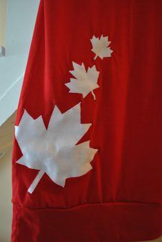 The Iron & Needle: Canada Day Shirt Tutorial