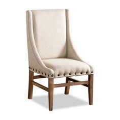 paris linen chair