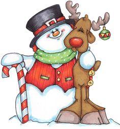 Snowman - Tita K - Picasa Web Albums Christmas Rock, Christmas Snowman, All Things Christmas, Christmas Crafts, Christmas Decorations, Christmas Ornaments, Christmas Windows, Christmas Graphics, Christmas Clipart