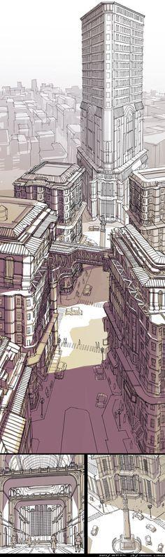 Details.  Feng Zhu Design: More Student Work via PinCG.com