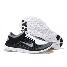 outlet store d7d88 0b86b Buy Nike Free 4.0 - 2016 Nike Mens Womens Free 4.0 Flyknit Black White Grey  Running