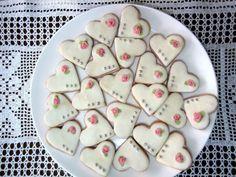 svatební cukroví inspirace - Hledat Googlem Mashed Potatoes, Wedding Cakes, Sweets, Sugar, Cookies, Ethnic Recipes, Food, Nike Shoes, Drink