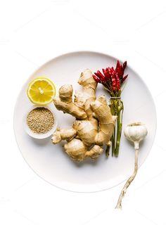 asian ingredients by IriGri on @creativemarket