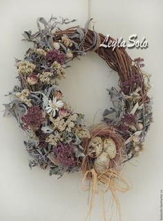 Венок на дверь Венок пасхальный. декор на Пасху для Вашего интерьера и в подарок к Светлой Пасхе