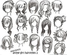 Looking for anime girl hairstyles?.....