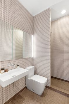 Tile perfection 😍 Swipe to see how this bathroom transformed into a wet room, with an open shower and tiny ceramic tile throughout. Mold In Bathroom, Tiny Bathrooms, Bathroom Floor Tiles, Bathroom Shower Curtains, Ceramic Tile Bathrooms, Kitchen Tile, Tile Floor, New Bathroom Ideas, Bathroom Goals