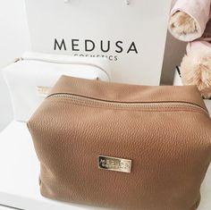 April Malmsteen Medusa Cosmetics bag