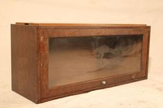 Industrial Mid Century Barrister Book Case Metal Glass Vintage on Etsy, $150.00