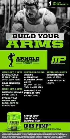Arnold Build Your Arms