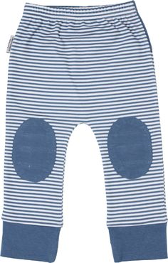 Designer baby boy clothing - SOOKIbaby - Flight Adventures Patch Knee Pant - $32.95 - Adorable stripe baby boys pants from the Baby Flight Adventures range by SOOKIbaby!    Features adorable and super comfy design! Contrast ankle cuffs and reinforcement exactly where it is needed - the knees! Team with the Flight Adventure Singlet and your little mans outfit is complete!  Designer baby boy clothing - SOOKIbaby