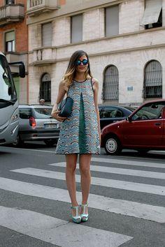 Moda en la calle street style inspiracion verano 2013 - Eleonora Carisi