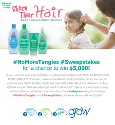 Check out these proud parents who entered to win $5,000 in the Share Their Hair Sweepstakes by uploading a photo of their child's back to school hair! Don't forget to enter!