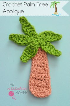 Palm Tree Applique - Free Pattern www.thestitchinmommy.com