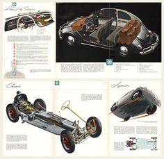 1958 Volkswagen Beetle Brochure I OldBrochures.com