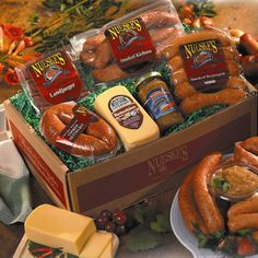 August 16 :: Bratwurst Day :: So many companies celebrate the winter holidays with food gifts :: Your brand can get lost in all those gifts :: But if you were to send Nueske's Black Forest Gift Box to celebrate this day; there's a better chance you will be remembered and appreciated - that's hot, dawg.