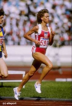 Mary Decker Slaney American Legend: The only athlete ever, male or female to hold EVERY American record from 800m to 10,000m