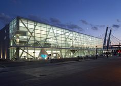 Milwaukee Intermodal Station   Milwaukee, Wisconsin  Architect: Eppstein Uhen Architects (2000s)