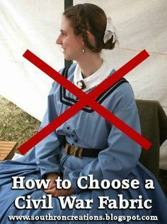 Southron Creations: How To Choose A Civil War Fabric - Visit to grab an amazing super hero shirt now on sale! Historical Costume, Historical Clothing, Historical Dress, Mardi Gras, Civil War Fashion, Civil War Dress, Civil War Quilts, Period Outfit, Period Costumes