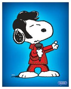 Snoopy Elvis.