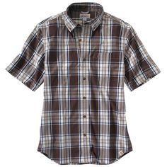 ***NOW ON SALE*** Carhartt SS Plaid Shirt - The Brown Duck
