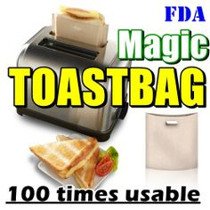 3f8cd953bd8c Qoo10 - Magic toast Sandwich Bag 100 times use UK best seller kitchen