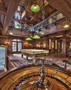 Luxury Man Cave ~ Game room ~ Bar