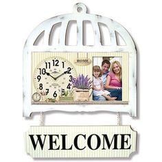 Ahşap Eskitme Welcome Tabela Dekoratif Duvar Saati, Ahşap Eskitme Welcome Tabela Beyaz Dekoratif Duvar Saati Ürün Bilgisi ;Ürün maddesi : Mdf vemetal kullanılmıştır Ebat : 40 cm x 55cm D