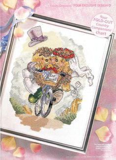 Country Companions Summer Wedding by DMC The World of Cross Stitching Issue 59