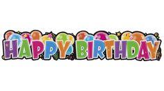 Happy birthday felirat, Nicol Party Kellék Bolt