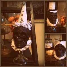 *Rook No. 17: recipes, crafts & creative nesting*: DOLLAR STORE HALLOWEEN CRAFT ~ SKELETON CREW REDUX
