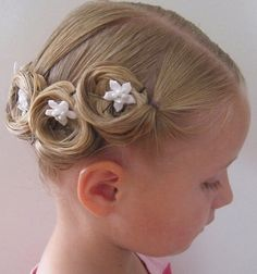 Learn how to style hair for young girls by watching these great hair tutorials in this page. Description from pinterest.com. I searched for this on bing.com/images