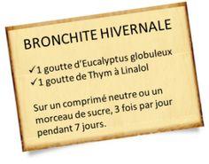 Soigner une bronchite avec des remèdes naturels