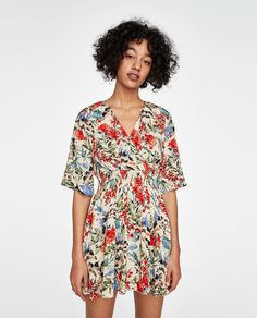 Image 2 of FLORAL PRINT DRESS from Zara
