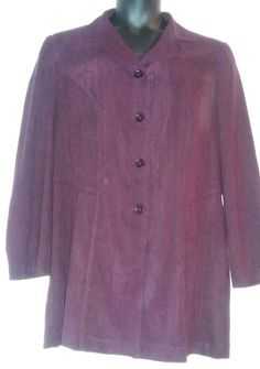 4970f5bb2560a Fashion Bug Blazer Jacket Purple Wine Long Sleeve Size 18W  FashionBug   Blazer Purple Wine