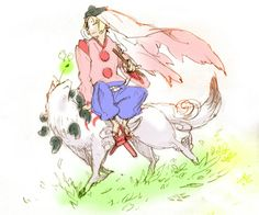 waka and amaterasu