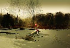 Winter smells. by PascalCampion.deviantart.com on @DeviantArt