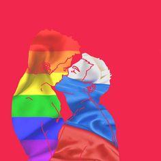 Il giovane #artista #emergente, Yunlong Xie Stefano, lavora sul tema dei diritti #gay e #LGTB - #mostrami #illustrazione #disegno http://www.mostra-mi.it/main/?p=6459