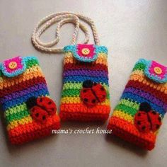 crochet phone case | Phone case crochet | Hakerijtjes | Pinterest