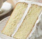 bolo base com massa branca