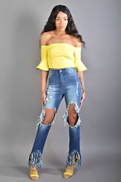 70fcf93a78b6fa Kensie Extreme Ripped Jeans