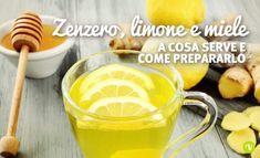 Miele, limone e zenzero